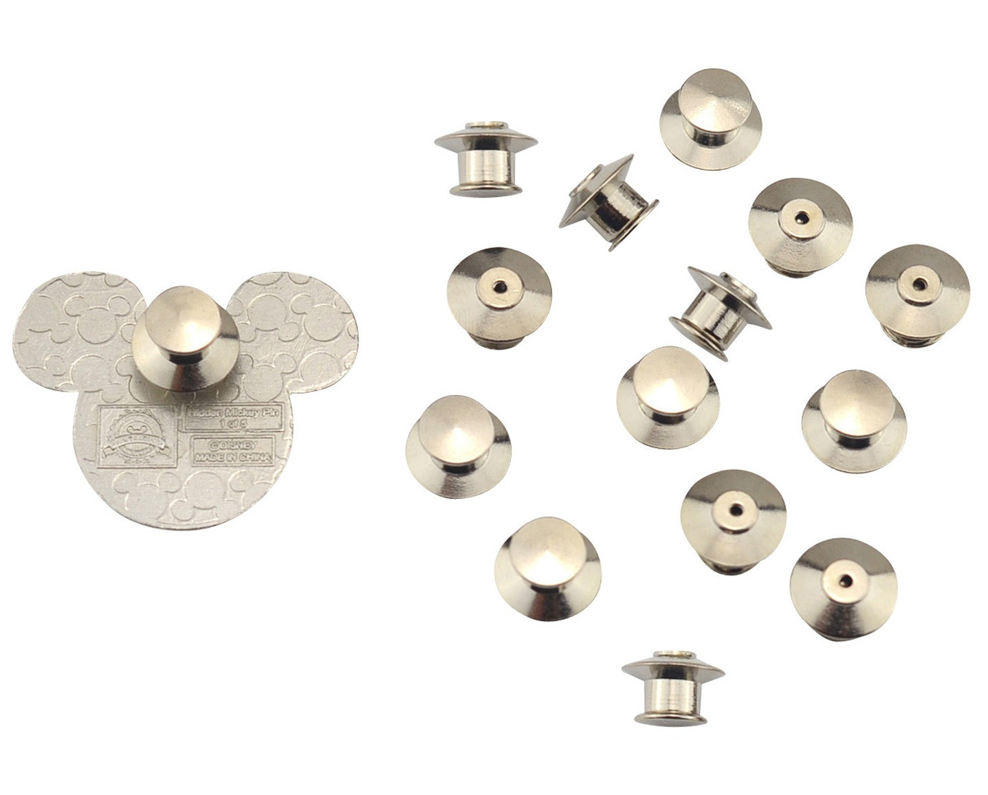 Locking Lapel Pin Backs-Solution to Keep Your Pins From