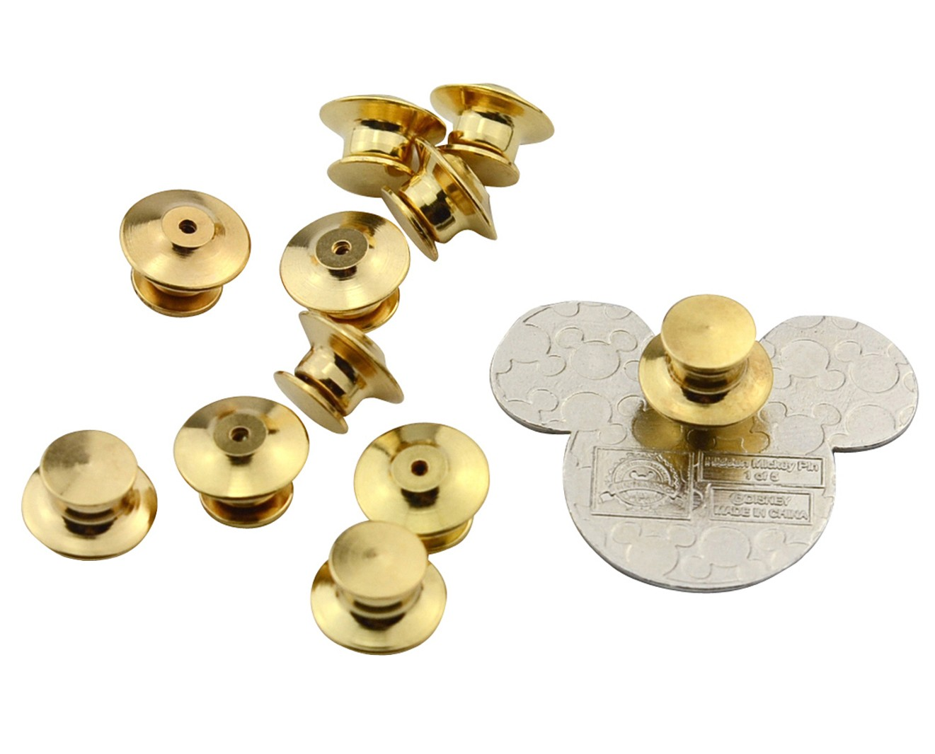Military Pin Keepers-Low Profile Locking Pin Backs for All
